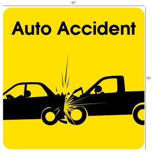 We treat injuries from auto accidents.