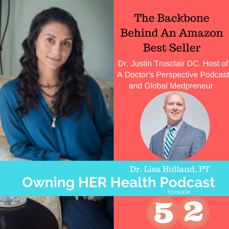 behind the scene to why write a book and how to promote it on owning her health episode 52 podcast